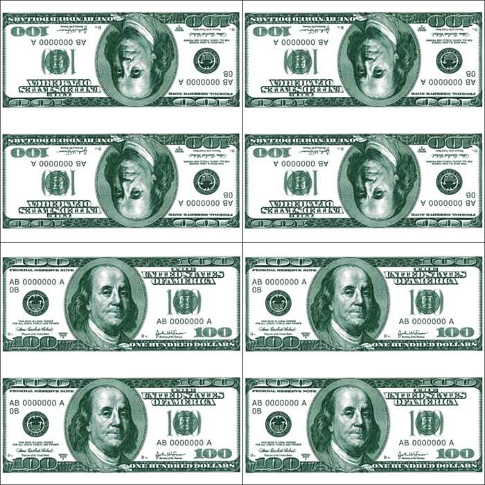 доллары для печати на принтере картинки каждого