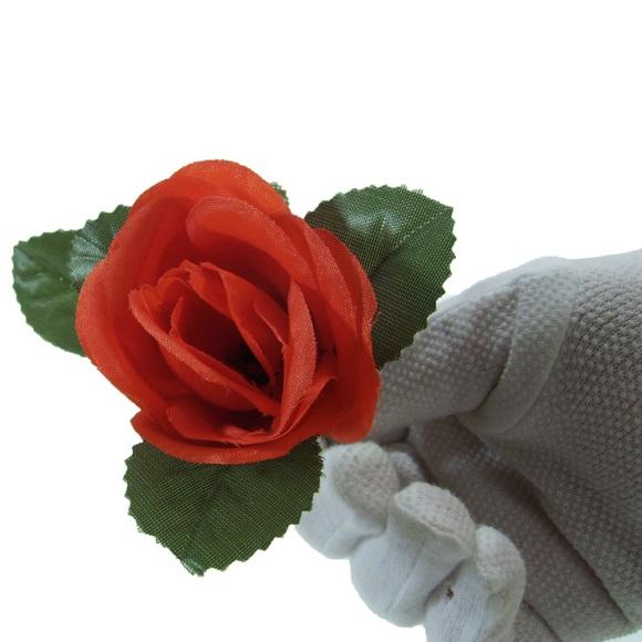 Как сделать розу для фокусов
